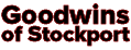 Local plumber - Goodwins of Stockport Logo.